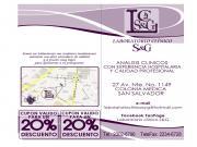 Brochure De Laboratorio Clínico S&G