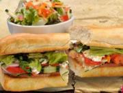 Sándwiches Vegetarianas