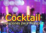 Cöcktail  servicios para Fiestas