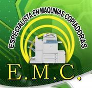 E.M.C. especialistas en maquinas copiadoras